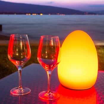 'Egg' LED Lamp, 16 color light, portable