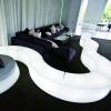 LED seat, Snake, modular, 120cm long, RGB, wireless