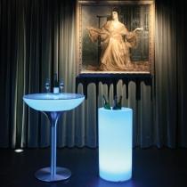Seau léger LED 'Cies', différentes tailles, lumière 16 couleurs