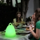 Handy LED Lamp, wireless, RGB, portable, rechargeable