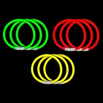Fête semáfao, bracelets lumineux