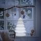 Arbre de Noël, LED, RGB, sans fil, Snowy