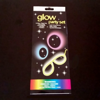Cotillón Kit Glow Fiestas luminosas, pack