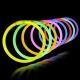 Bracelets lumineux 100 Party, Glow, Multicolore