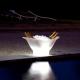 Lect de cubitera lumineux 'Gondola', lumière 16 couleurs