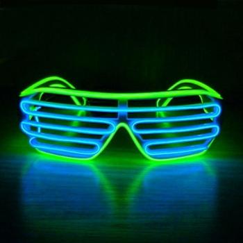 Gafas fiesta LED Persianas