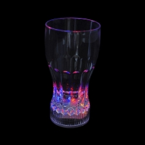 Led glass of coke