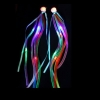 Extensiones pelo fiesta para pelo led arco-iris