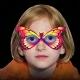 Máscaras fiesta Glow luminosas, surtidas