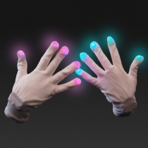 Guantes led luminosos