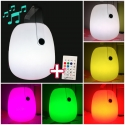 Portable LED Speaker with bluetooth connection