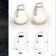 Lámpara Altavoz bluetooth 22x30 cm, luz led 16 colores, portátil
