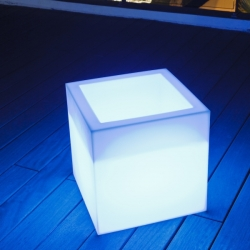 40 cm Open LED cube, 16 colors light, portable