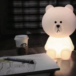 Lâmpada LED 'Oso', luz quente