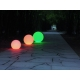 50 cm LED Sphere RGBW light, rechargeable battery