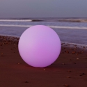 80 cm LED Sphere RGBW light, rechargeable battery