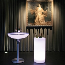 Cubitera luminosa led 'Cies' 40x80 cm, luz 16 colores