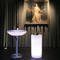 Seau lumineux LED 'Cies' 40x115 cm, lumière 16 couleurs