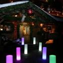 LED Column Lamp, various sizes, RGB 16 color light