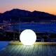 Bola luminosa led esférica 60 cm, luz 16 colores, portátil, flotante