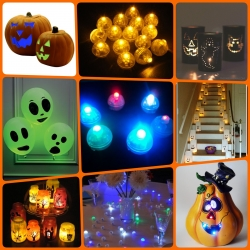 Mini multicolore LED Balls Utilisations multiples (DIY)