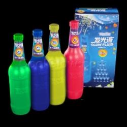 Líquido fluido glow fluorescente