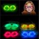 Masques de fête lumineux Glow, stockés