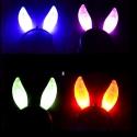 5 Diademas Orejas Conejo LED Bunny