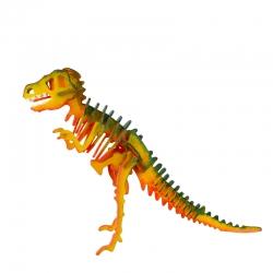 3D painting puzzle T-Rex