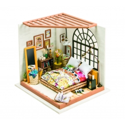DIY Miniature Doolhouse Kit Alice's Dreamy Bedroom