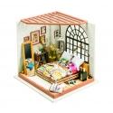 DIY Miniatura Casita muñecas Dormitorio