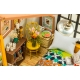 DIY Miniatura Dormitorio Puzzle