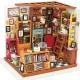 DIY Miniatura Estudio Biblioteca Puzzle