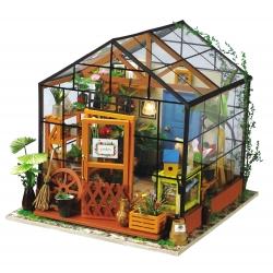 DIY Miniatura Casita Muñecas Invernadero