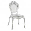 Nouveau transparent design chairs