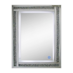 Mirror with Led light Rectangular Star