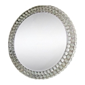 Mirror, Luminous Round Luxury