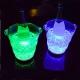 Cubitera lumineuse LED methacrylate Waves