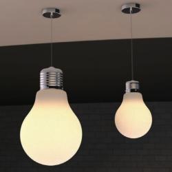 Lampe pendentif plafond Bulbe