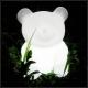Children LED Lamp 'Lovely Bear', 16 colors light, portable