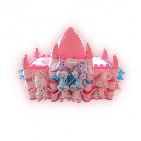 Castillo de peluche: Unicornios