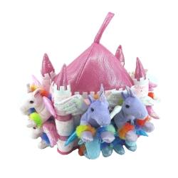Castillo de peluche: Unicornios Lite