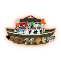 Arca de Noé de Peluche con 42 Muñecos