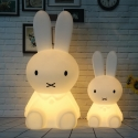 Lámpara  infantil led 'Conejo', luz cálida, 2 tamaños