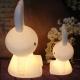 Lámpara luminosa led 'Conejo', luz cálida