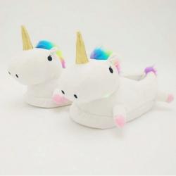 Zapatillas de Unicornio con Luz, Slippers de peluche