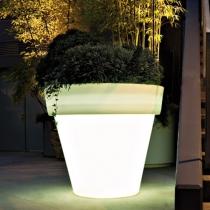 Macetero Maceta luminosa led 'Roma' 60x68 cm, luz 16 colores