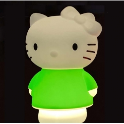 Lámpara infantil led 'Hello Kitty', luz cálida