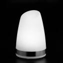 "Lámpara de mesa ""Keops"" luz led blanca monocolor, batería recargable"
