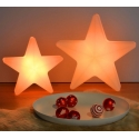 40cm Galicia Star LED Lamp, wireless, RGB, rechargeable